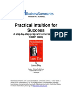 PracticalIntuitionForSuccess