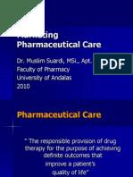 Muslim Lecture Entrepreneurship 12 Marketing Pharmaceutical Care