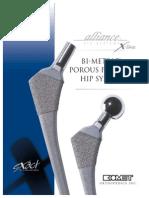 Cadera Bimetric Porous