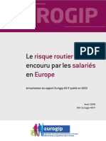 Eurogip Risque Routier 2009 40F