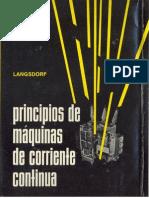 Principios de Maquinas de Corriente Continua (Alexander s. Langsdorf)