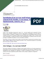 oui 1 Installation d'un serveur mail brique par brique… (OpenLDAP, Postfix, Cyrus-imap, TLS, SASL, Spamassassin, Amavis, etc…)
