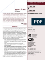 The Psychology of Fraud