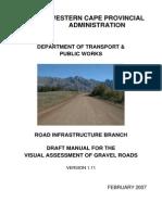 Visual Assesments of Gravel Roads