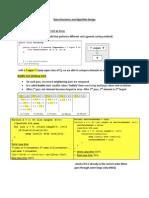 Java Unit 8 - Data Structures and Algorithm Design