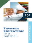 Finnish Education in a Nuttshell