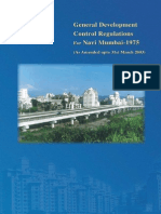 DCR for Navi Mumbai 2003