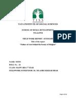 Feild Wrk Report
