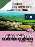 Brosur Panduan Murid Baru 2014/2015