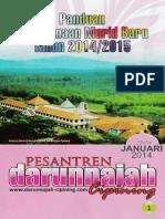 Pesantren - Brosur Panduan Murid Baru 2014/2015 [Large]