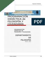 FILOSOFÍA Y CIUDADA 1BACH 12-13