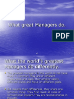 Great Managers