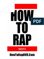 How to Rap Basics e Book