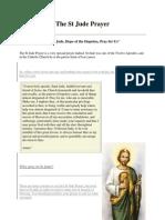 The St Jude Prayer