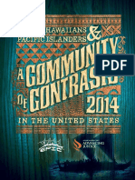 a Community of Contrasts- Native Hawaiians and Pacific Islanders in the United States