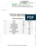 Material Specification