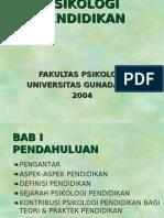 pendidikan psikologi