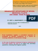 Edu_F_V_Irradiation Advantages of Spices, Medicinal Plants and Food Dry Plants