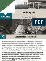 Refining - VALERO