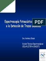 20071116 Espectroscopia Fotoacustica Slezak