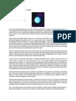 Transit Uranus Has Entered Aries - Analysis