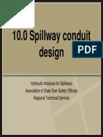 10 Spillway Conduit Design