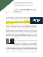 Termoluminiscencia Homeopatía