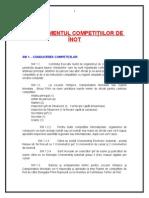 Regulamentul Competitiilor de Inot