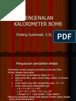Kalorometer Bomb