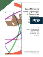 Bmsg Report Food Marketing in the Digital Age a Conceptual Framework.