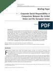 CSR-USA vs EU