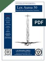 Lex Aurea 50 - Libera Rivista di Formazione Esoterica