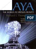 MAYA-The World as Virtual Reality