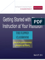 Getting Started with Flipped Instruction at Your Institution    (214392580)