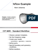 Horn Ant Workflow