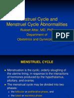 Mestruel Cycle Abnormalc4b1tc4b1es Amenorrhea Abnormal Uterin Bleeding2014