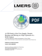 A CFD Study of the Urea Supply, Droplet