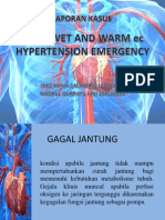 Adhf Wet and Warm Ec Hypertension Emergency