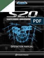Superior Drummer Operation Manual