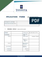 Teacher Applicationform