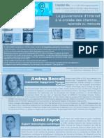 Programme Evénement Gouvernance d'Internet