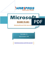 70-461 test