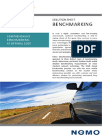Bench Marking Solution Sheet Jun 2012