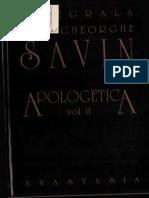 Ioan Gh. Savin - Apologetică vol. 2