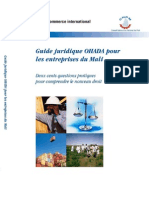 Guide Ohada Mali