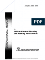 ANSI-SIA A92.2 (2009) - Vehicle Mounted Elevating and Rotating Aerial Devices