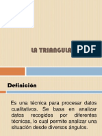 2. Triangulación