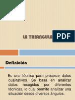2. Triangulación
