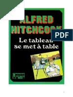 Alfred Hitchcock 19 Le tableau se met à table 1972