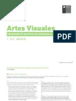 7.-Progresión de Objetivos de Aprendizaje - Artes Visuales 1° a 6° básico
